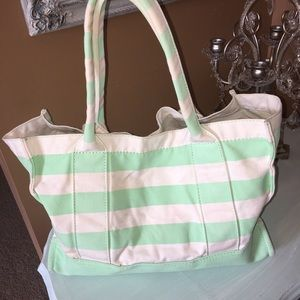 EUC JCrew Striped Tote